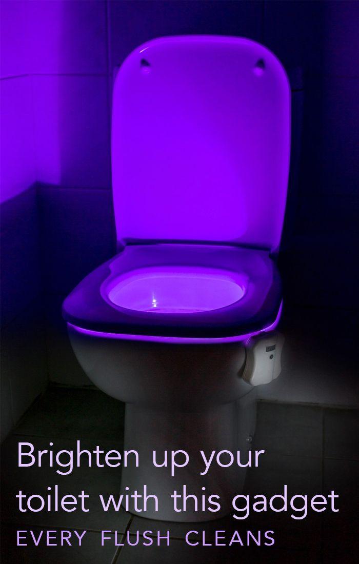 Transform Your Toilet Into A Nightlight Toilet Potty Training Toilet Bathroom Makeover