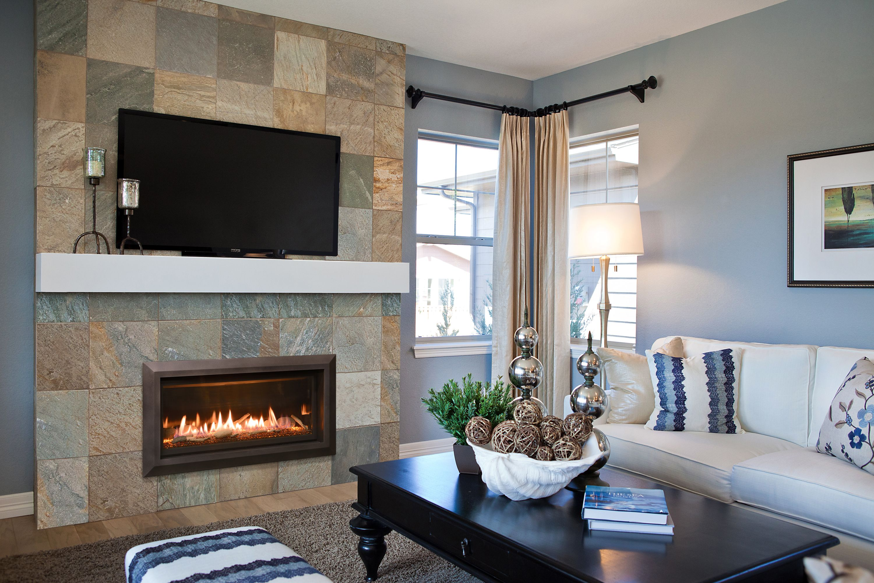 This Is Our Slayton 36 Direct Vent Linear Gas Fireplace