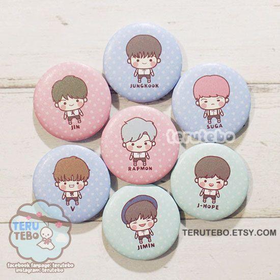 Kpop Bts I Need U Bangtan Boys Bts Pins Buttons Badges