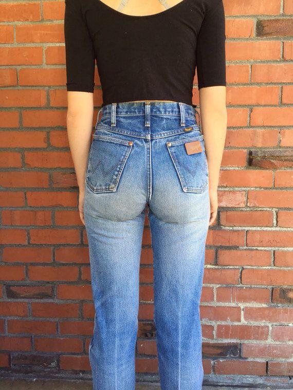 Vintage Wrangler Jeans 27 Waist Mom Jeans Vintage Denim