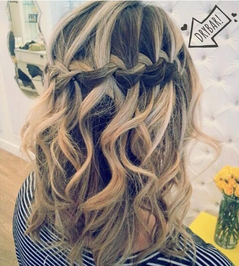 Love This #MaiTai With A Waterfall Braid By Stylist Gabby