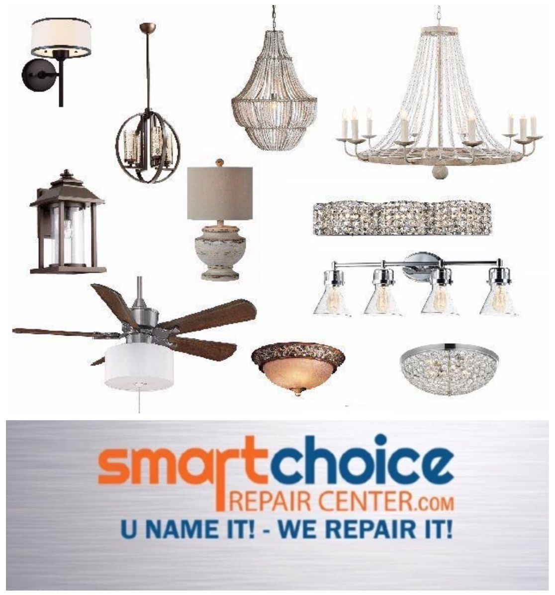 We Offer A Complete Line Of Services In Lamp Rewiring