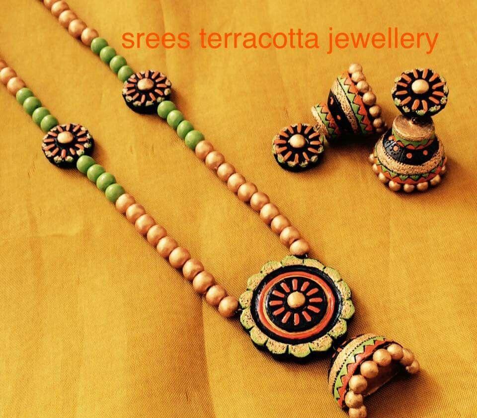 Srees Terracotta Jewelry Terracota Jewellery Terracotta Jewellery Terracotta Jewellery Designs