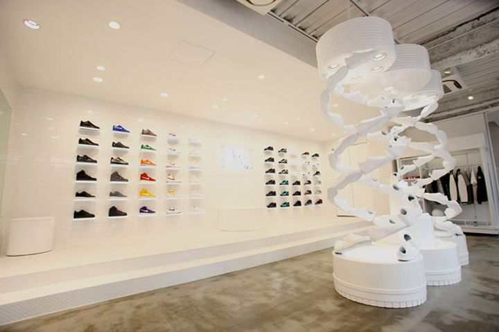 Nike Air Force 1 pop-up store, Tokyo