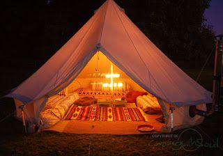Romantic Tent If Setting Up Outside Is Not Realistic For