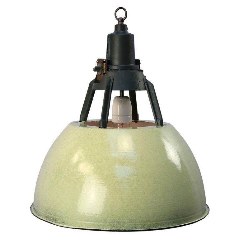 ceiling pendant lamp in green SALE Lampe