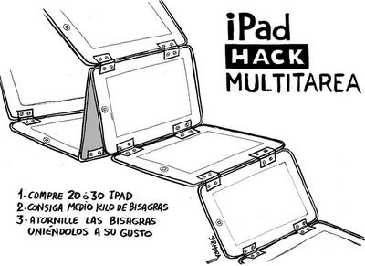 iPad multitarea. vía www.elblogdelmarketing.com