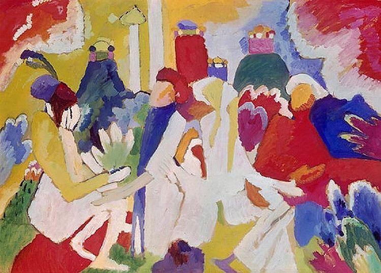 """Résultat de recherche d'images pour """"Wassily Kandinsky (1866-1944), Oriental"""""""