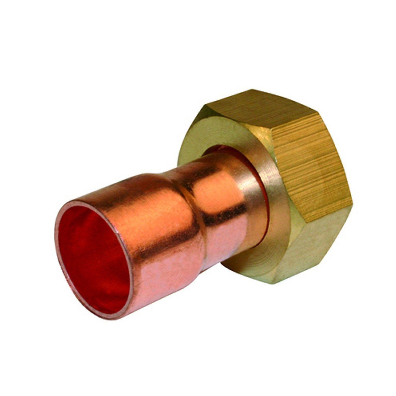 raccord tube aluminium leroy merlin