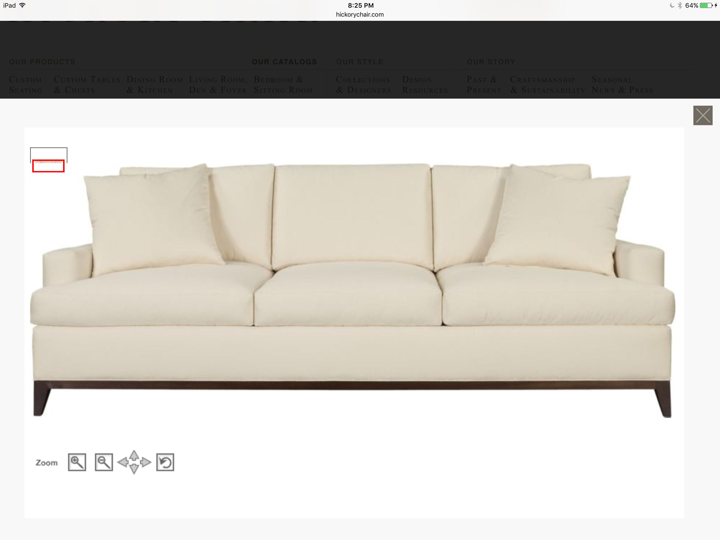 Sofa at Country Design Sofa, Hickory chair, Living room