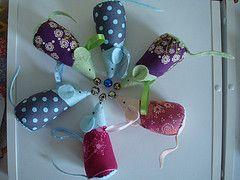 Jingle mice ornaments