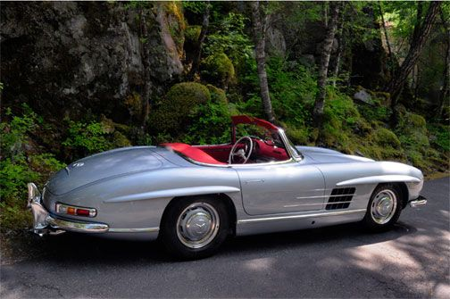 Wayne Carini Visits Mercedes 300sl Gullwing Specialist Spirited