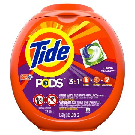 Household Essentials Laundry Pods Tide Pods Liquid Laundry