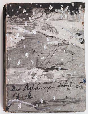 Anselm Kiefer  The Journey of the Nibelungen to Etzel, 1980-81
