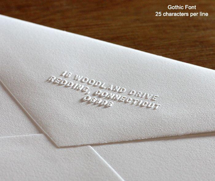 Return address hand embosser wedding invitations by invitations by return address hand embosser wedding invitations by invitations by ajalon stopboris Gallery