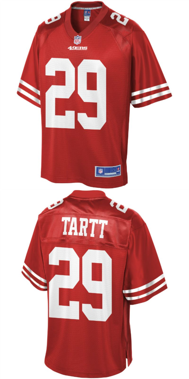 finest selection b7776 d83aa UP TO 70% OFF. Jaquiski Tartt San Francisco 49ers NFL Pro ...