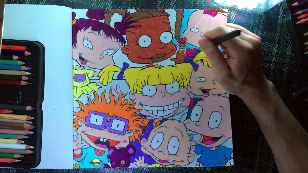 Nickelodeon The Splat Coloring Book Pages
