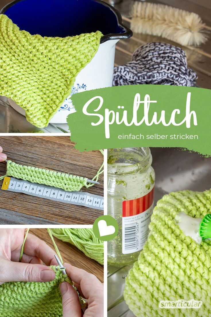 Photo of Simply knit dishcloths yourself – reusable and plastic-free  – Zero Waste – #dis…