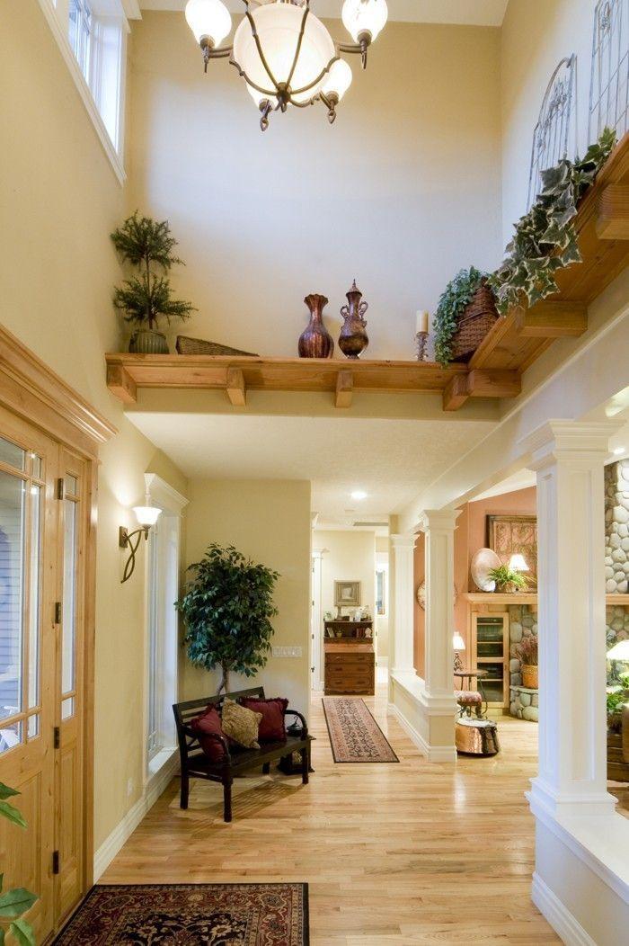 Eingangshalle und Flur in 42 Beispielen   - Hauseingang gestalten - #Beispielen #Eingangshalle #Flur #gestalten #Hauseingang #und #flurgestalten