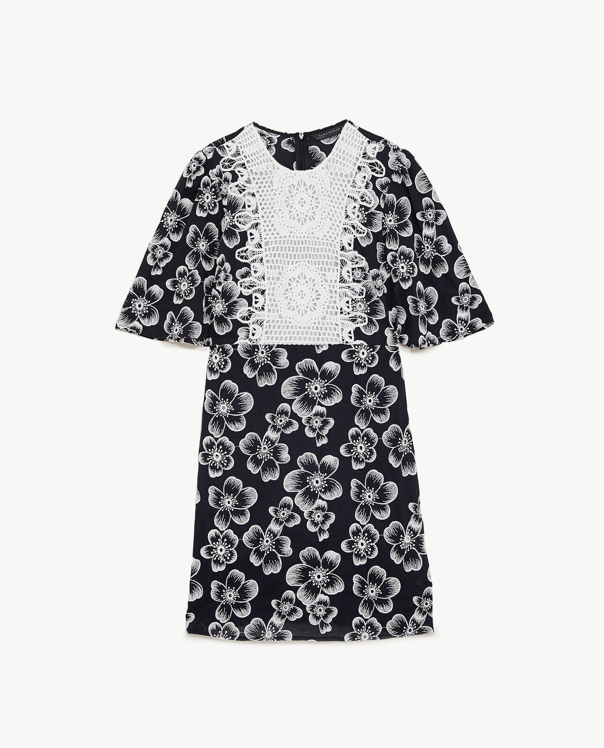 826a6c19 COMBINED BIB FRONT DRESS Zara, New Look Fashion, Spring Summer, Closet,  Floral