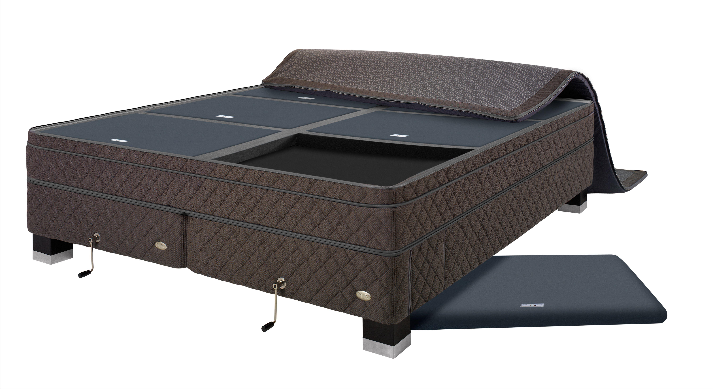 dux senge DUX pascal system indeholder tre kuverter med forskellig hårdhed  dux senge