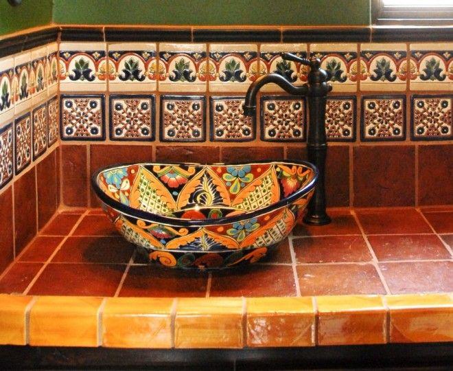 Superb Mexican Tiles Convention Austin Mediterranean Bathroom Awesome Austin Bathroom Remodel Decoration