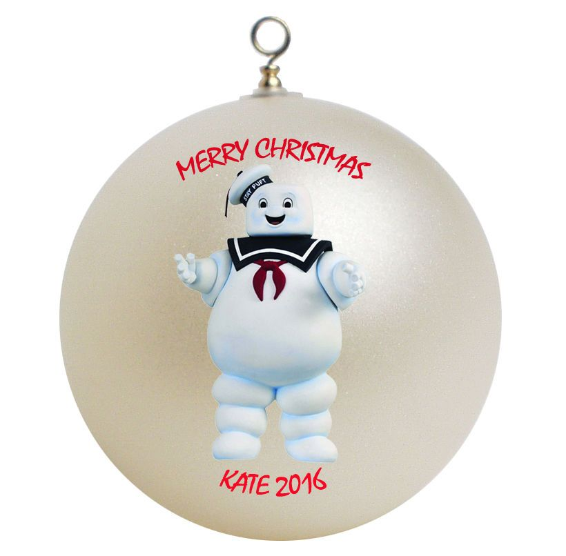 Custom Ghostbusters Stay Puft Marshmallow Man Ornament - Custom Ghostbusters Stay Puft Marshmallow Man Ornament In 2018