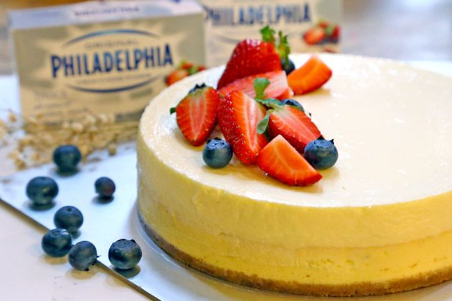 Subscribe Adsbygoogle Window Adsbygoogle Push Bring A Cheese Cake Wh Cheesecake Recipes Sour Cream Cheesecake Philadelphia Cream Cheese Recipes