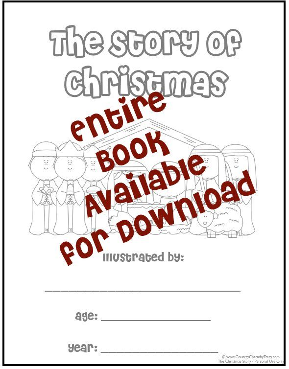 This is a graphic of Free Printable Christmas Story within biblical
