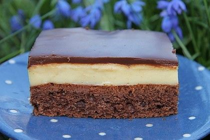 Schoko-Pudding-Kuchen vom Blech von Schiko1804 | Chefkoch #chocolategateaucake