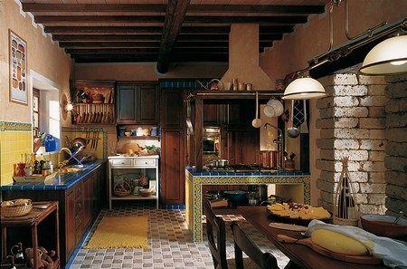 Cocinas rústicas tres ejemplos preciosos - DecoraHOY hogar