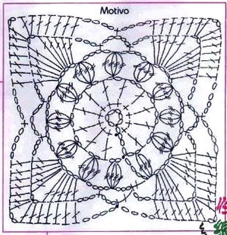 bolero granny\'s | lindo | Pinterest | Carpeta, Tejido en crochet y ...
