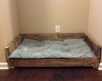Amazing Rustic Dog Bed