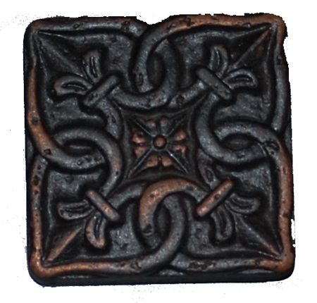 Metal Tile Oil Rubbed Bronze Redfern 2 X 2 Tiledepot Us Metal