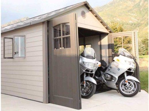 Lifetime | 11 x 18 Garage Shed