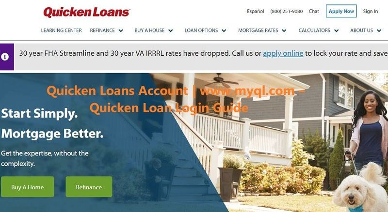 Quicken loans account quicken loan login