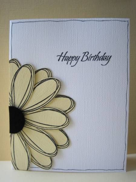 Pick A Petal Cards Handmade Paper Cards Homemade Birthday Cards