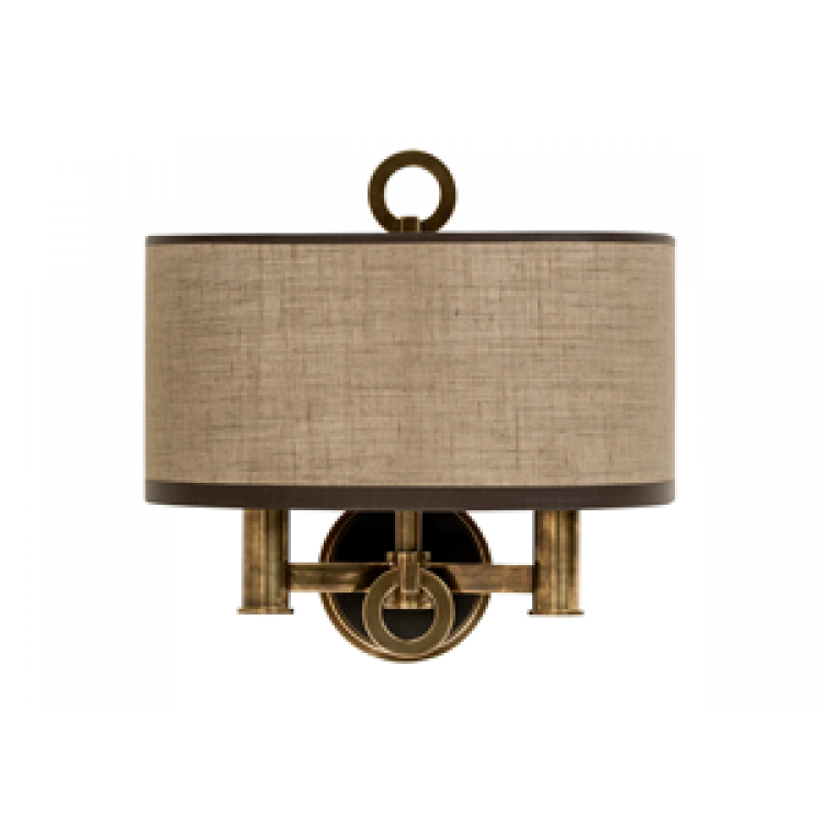 Lights · pieter adam bronx double wall sconce smoked brass buy online at luxdeco