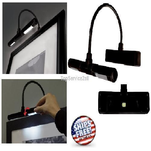 battery operated super bright led picture light wireless picture led