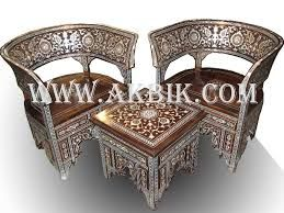 salon style syrien nacre google search meubles. Black Bedroom Furniture Sets. Home Design Ideas