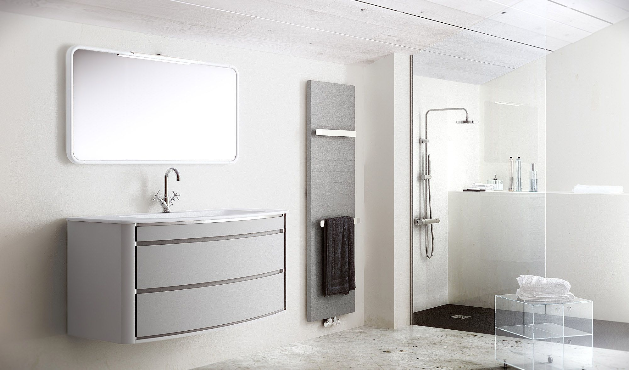 Fiora Salle De Bain fiora: in touch collection grey. | bathroom furniture, house