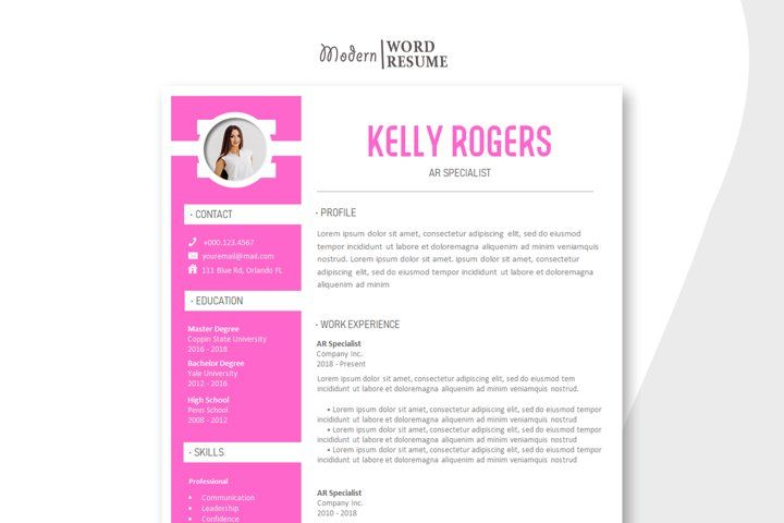Ar specialist resume template cover letter reference