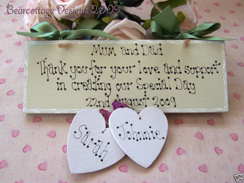 Personalised Wedding Gift Bride And Groom Thank You Bridal Shower