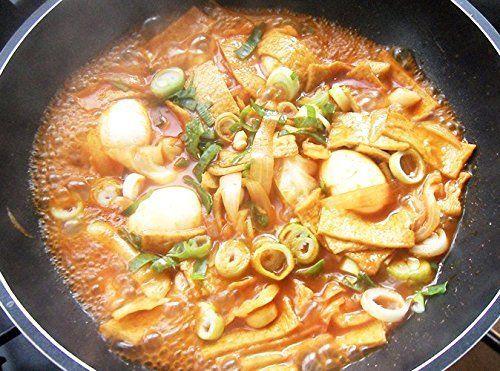 Korean Sweet and Spicy TTeokbokki Hot Sauce Stir-fried ...