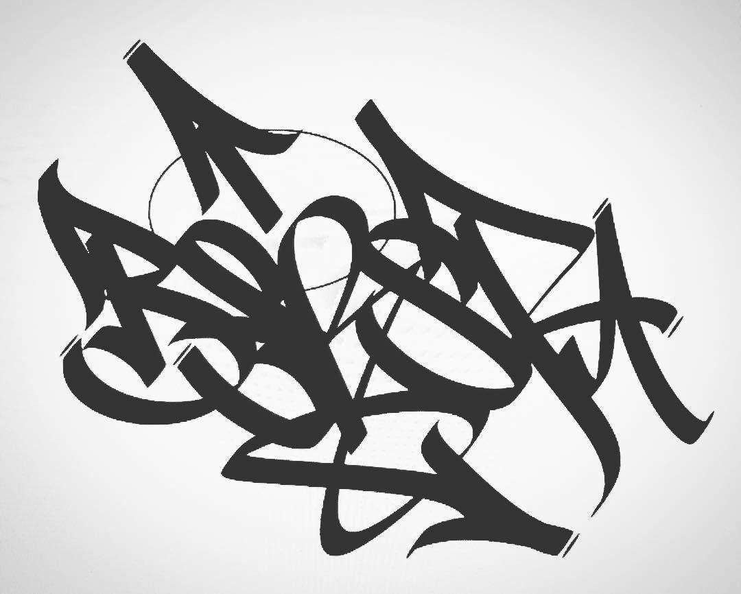 Easy Graffiti Tags
