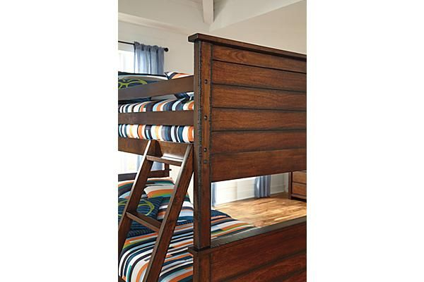The Ladiville Youth Bunk Bed From Ashley Furniture Homestore Afhs Com The Inviting Vintage