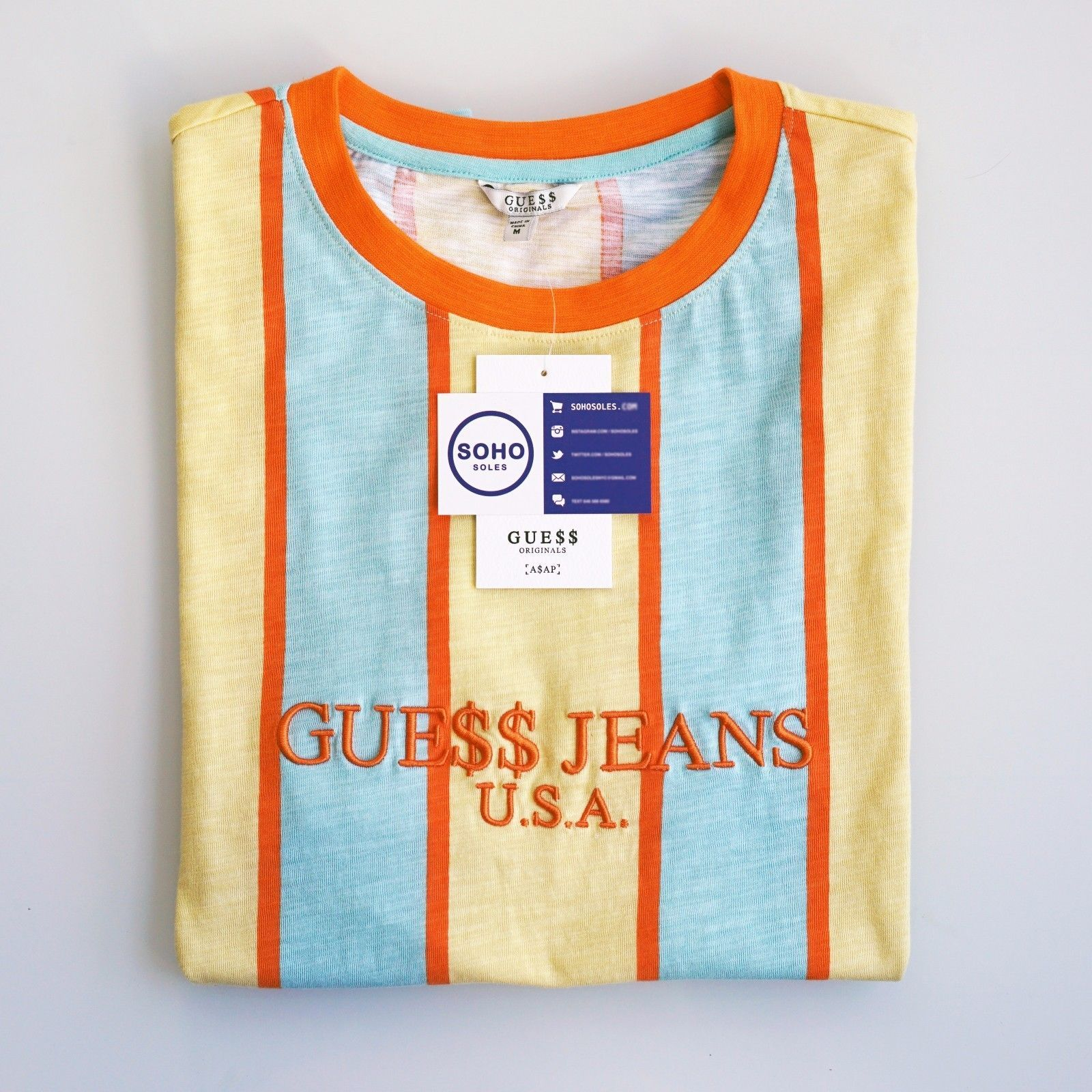 329d4cc645b5 Guess Jeans X Asap T Shirt