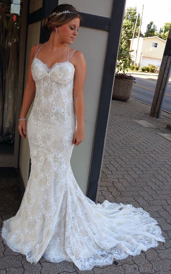 New Marisa Bridal Gown to show off your curves. | Pinterest ...