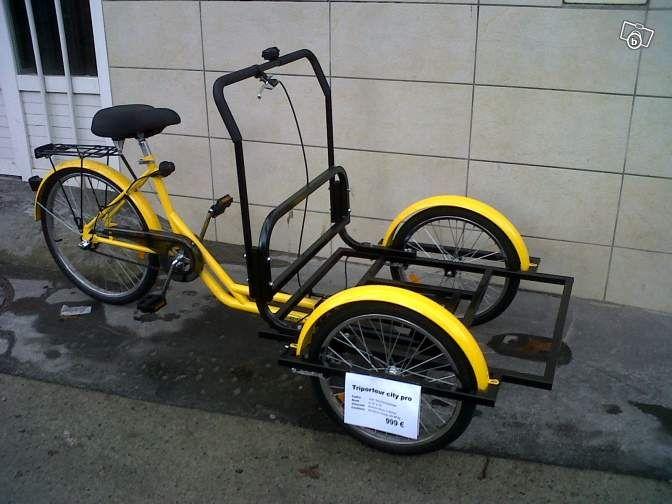 triporteur velo bicyclette v los haute garonne leboncoin. Black Bedroom Furniture Sets. Home Design Ideas