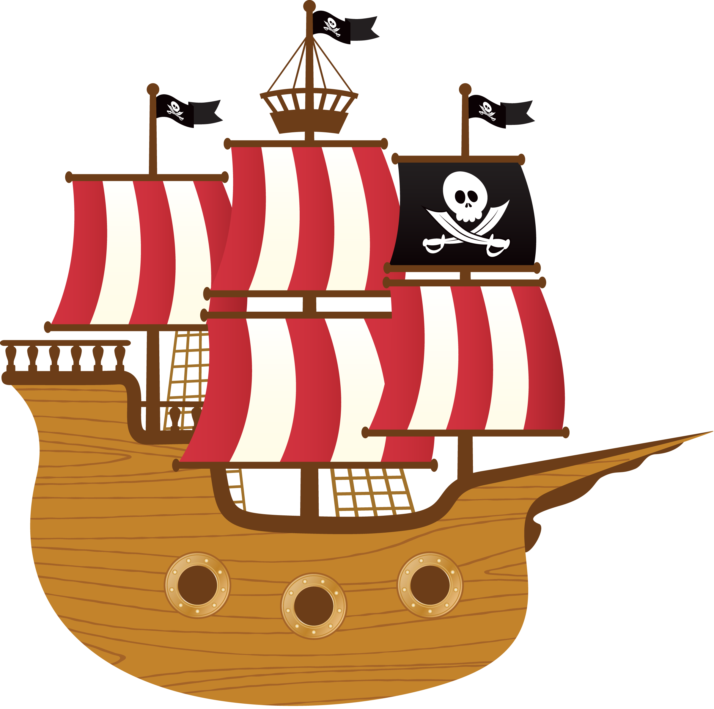 Ships Kids Drawings